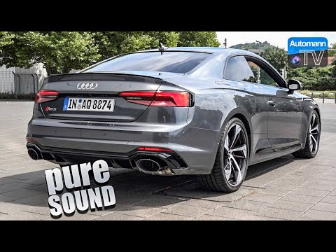 Audi RS Hp Pure SOUND FPS YouTube - Audi rs5 2018