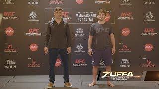 UFC Сингапур: Стердауны