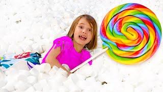 Папа Макса и Ката хочет все конфеты себе