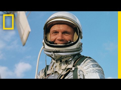 Remembering John Glenn: See Footage of His Legendary First Orbit of the Earth  National Geographic