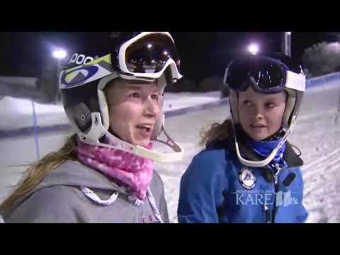 En el descenso, Noelle Barahon lindsey vonn