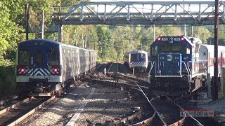 [HD 60p] Leaf Blowers and Tin Cans of Metro-North - 09/24/2016