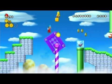 New Super Mario Bros. Wii NTSC-U In 576i