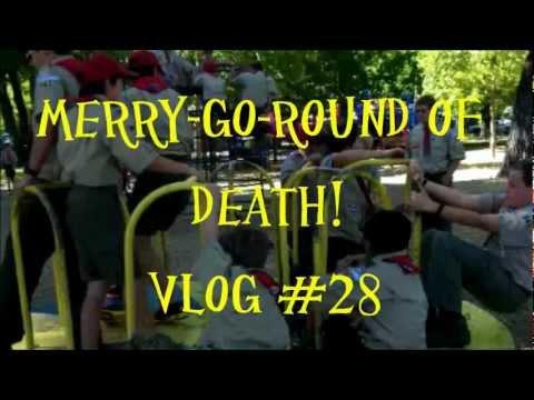 Merry-Go-Round of Death! Vlog #28