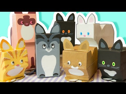 diy-decorate-your-room-with-cats---cardboard-crafts-to-make-at-home-|-easy-craft-ideas-for-everyone
