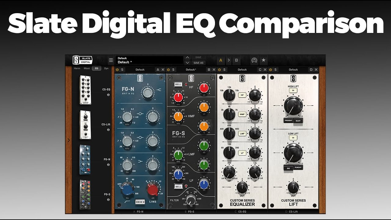 How To EQ Tracks In a Mix w/ Slate Digital's Everything Bundle