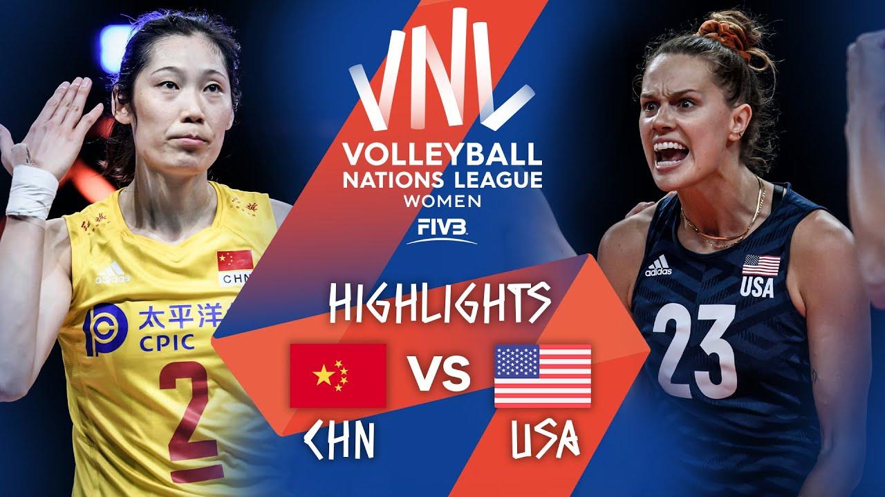 Download CHN vs. USA - Highlights Week 5   Women's VNL 2021