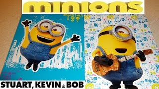 2015 Minions Movie Topps Starter Set Sticker Book and Booster Pack 迷你小兵