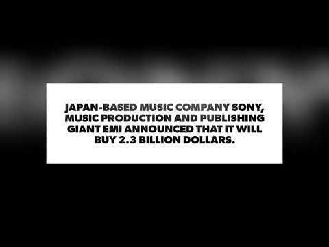 SONY buys EMI MUSIC |2.3 Billion Dollars✓ Mp3