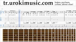 Gitar dersleri Sinan Akçıl feat. Ferah Zeydan - Şarttır Bölüm#2 um-723