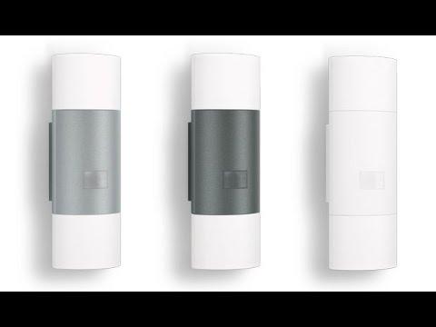 sensor led light l 900 910 led steinel diy youtube. Black Bedroom Furniture Sets. Home Design Ideas