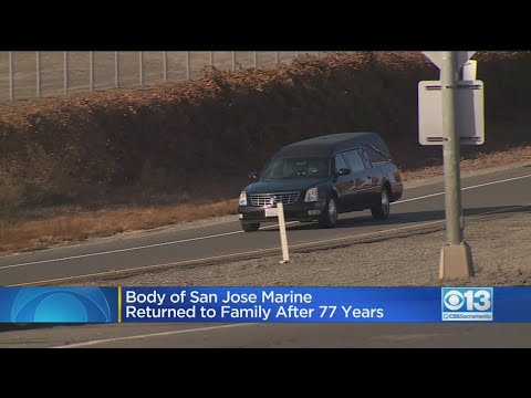 Body Of San Jose Marine Returned To Family After 77 Years