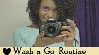 {32} My Wash n Go Routine