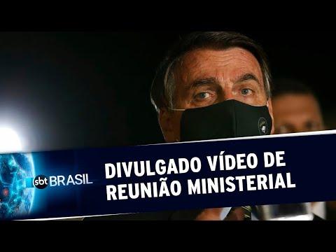 Em Reunião, Bolsonaro E Ministros Criticam STF, Governadores E Imprensa | SBT Brasil (22/05/20)