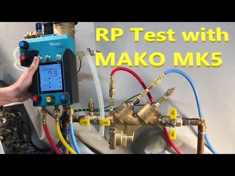 RP Test Procedure USC 10th Edition MAKO 5 Valve Test Kit