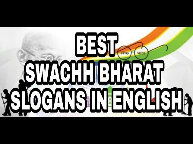 Best Slogans on Swachh Bharat in English ||Swachh Bharat slogans as per CCE ||creative skills