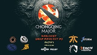 Fnatic VS J.Storm The Chongqing Major Lower Bracket R2 (Bo3)