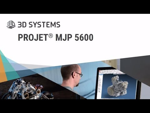 3D Printing with the NEW ProJet MJP 5600