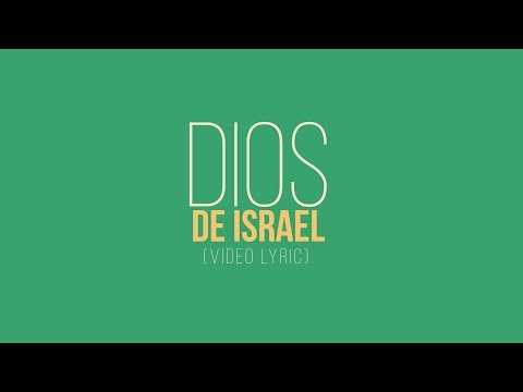 Kike Pavón - Dios De Israel (Video Letras)