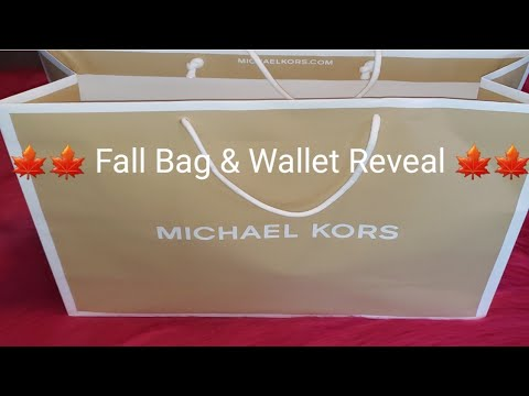 🍁 Fall Bag & Wallet Reveal 🍁