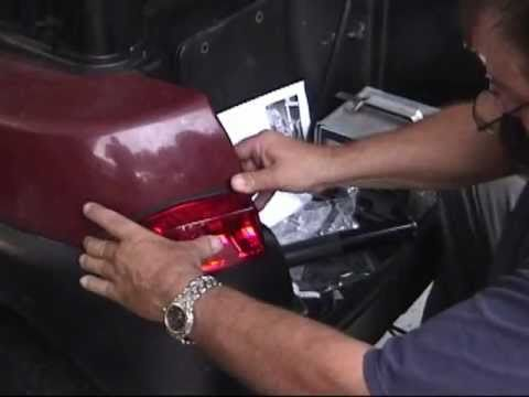 Precedent golf cart Light Kit Installation  YouTube