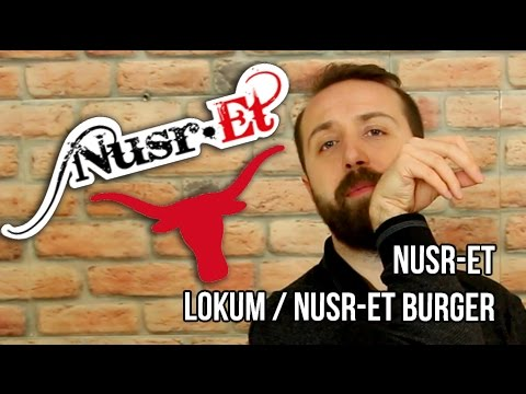 Nusr-Et Steakhouse Burger - Yemek Paket Servis İnceleme ve Yorumlar / NusrEt Lokum - Nusr-Et Burger