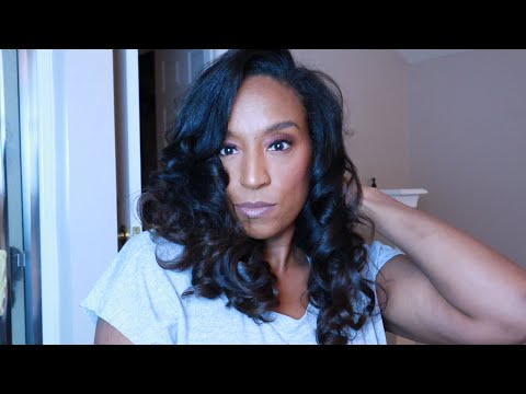 GRWM: Using Jackie Aina x ABH palette with NO clue what I am doing/Curls with flat Iron thumbnail