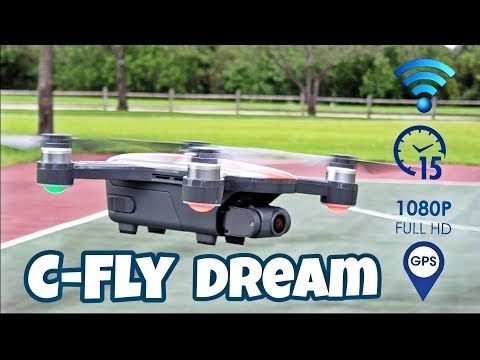 C-Fly Dream [From $219] - The Smartest DJI Spark Clone - GPS Drone - Full Review!