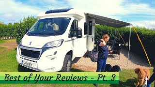 YOUR CAMPER VAN REVIEWS! Part 3 of The BEST of the Rest!