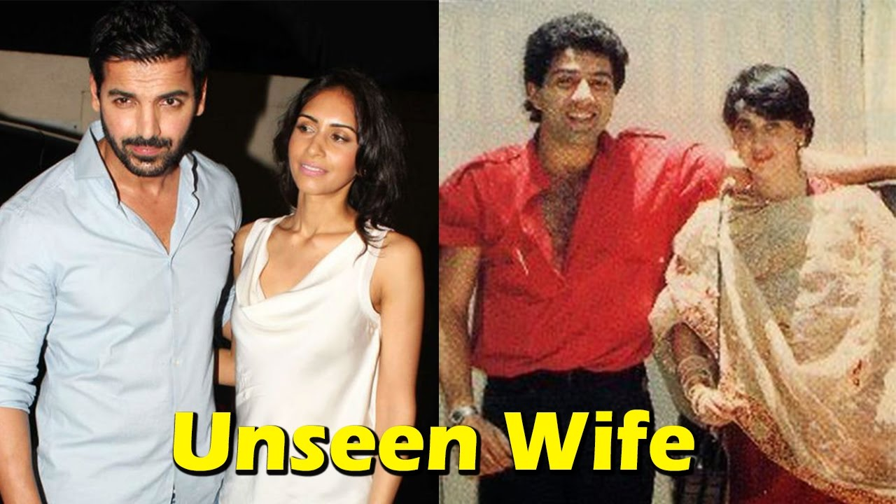 10 Unseen Wives Of Bollywood Actors