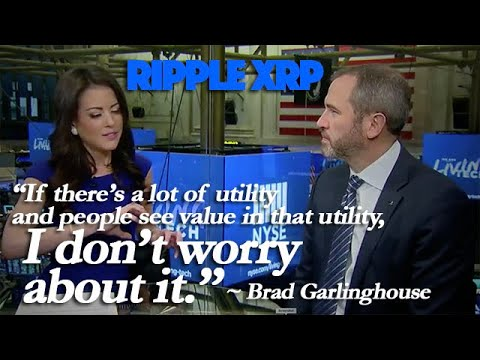 Ripple XRP: Brad Garlinghouse Is Waiting For Utility To Drive XRP Price Higher 1