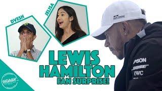 BIGGEST SURPRISE EVER BY LEWIS HAMILTON
