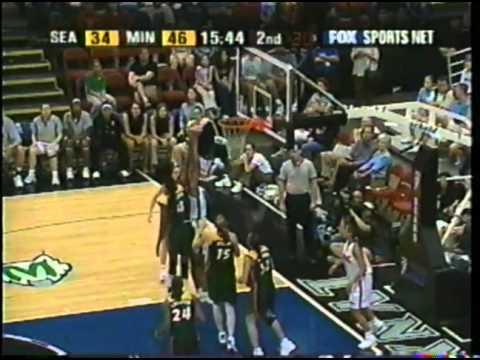 Classic WNBA: Seattle Storm vs. Minnesota Lynx (August 4th, 2002)