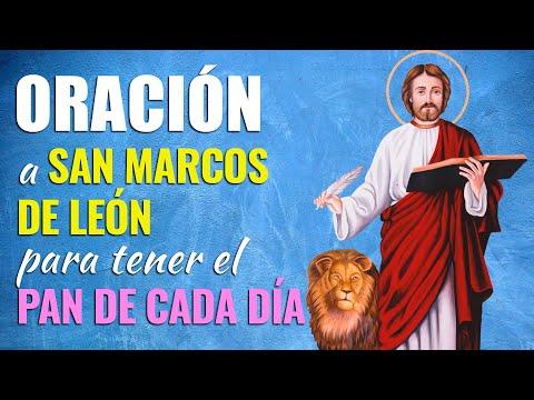 🙏 Oración a San Marcos de León para tener EL PAN DE CADA DÍA 🥪