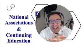 National Associations (US) & Continuing Education Requirements