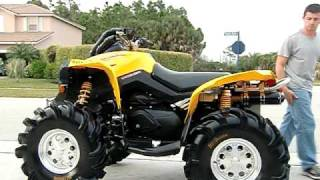 Repeat youtube video Can am Renegade with HR1 exhaust