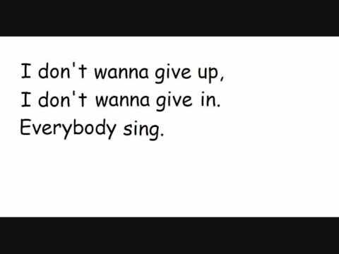 Blue- One love with lyrics