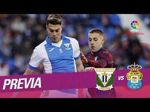 Previa CD Leganés vs UD Las Palmas