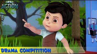 kahani For Kids | Vir The Robot Boy | Hindi Cartoons | Drama Competition | WowKidz Action