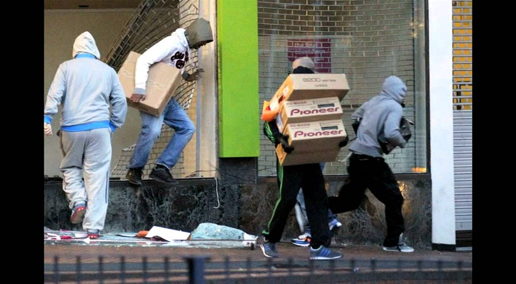 Image result for london riots looting