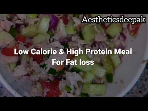 High Protein Chicken Salad  Quick and easy recipe for Lunch or Dinner  Low calorie High Protein meal