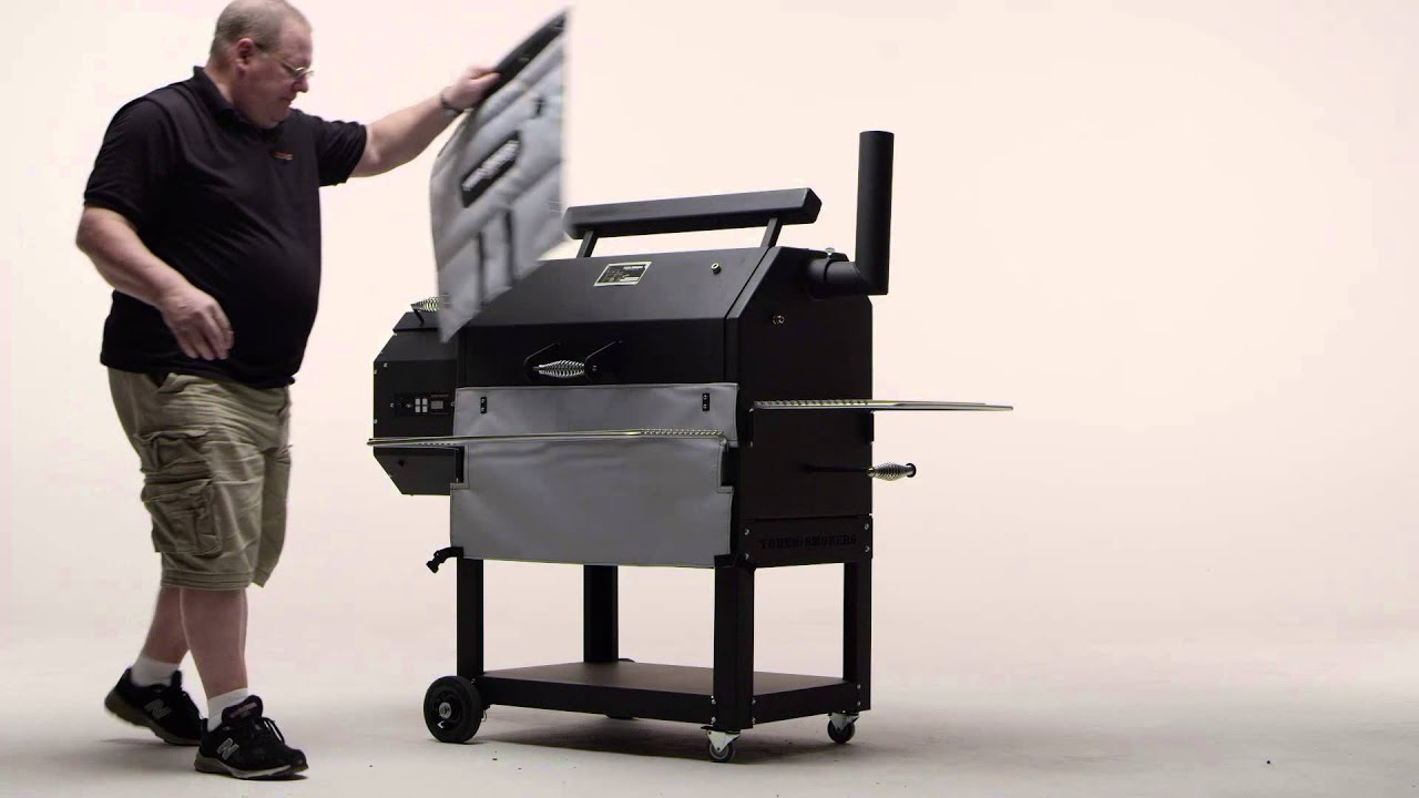 Yoder Smokers Pellet Grills | Installation of Insulated Heat Blanket