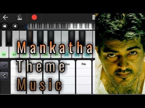 Mankatha Theme Music | Notes & Chords | Yuvan Shankar Raja | Ajith Kumar | Piano