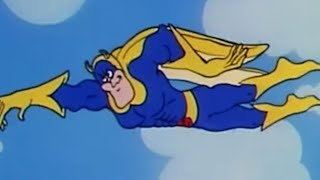 Swimming Through the Air | Funny Episodes | Bananaman Official