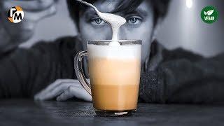 ЛАТТЕ в домашних условиях без кофемашины Как взбить молоко для капучино Голодный Мужчина ГМ 204