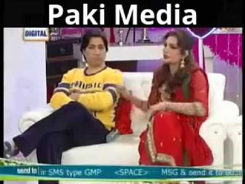 Javeria and Saud Badly Fighting in Live Show