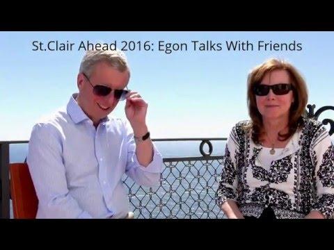St.Clair Ahead: Sheila Lama Talks With Egon - Future Risks