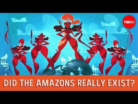 Video image: Did the Amazons really exist? - Adrienne Mayor