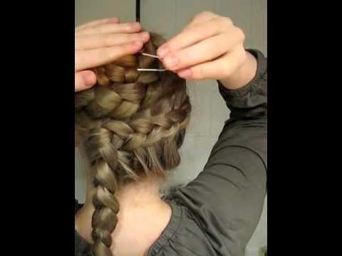 Haarnadeln richtig stecken - How to pin Hairpins right