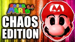 CREEPYPASTA AND THE EEL! - Mario 64 Chaos Edition [P4]